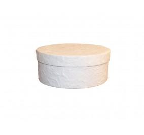 D150_Box tondo bianco