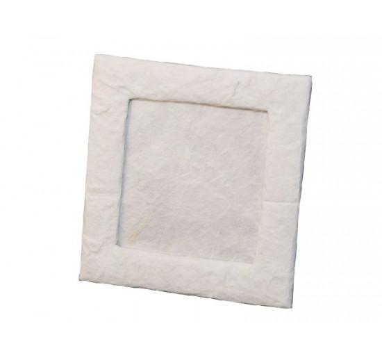 Cornice bianca 8x8,5 cm
