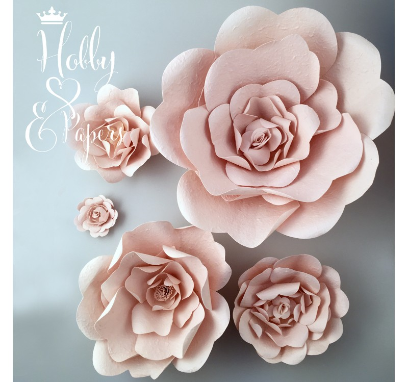 Rose in carta rosa antico hobby papers for Rose color rosa antico
