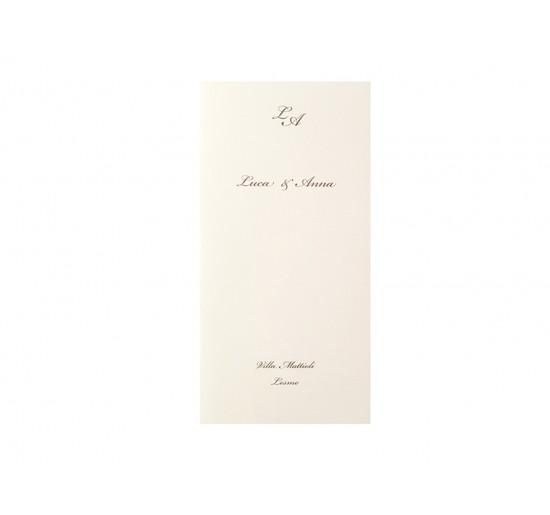 Romantic _ Menu' a Libro