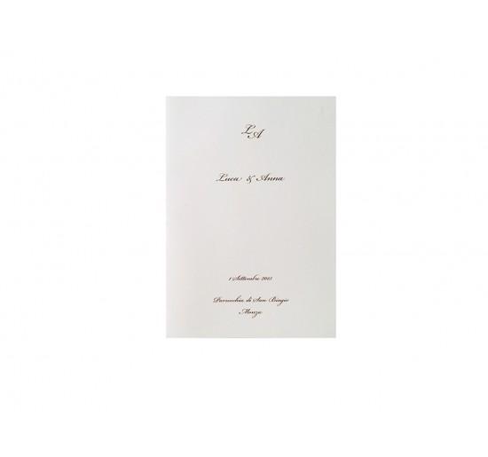 Romantic _ Libretto Messa Cover