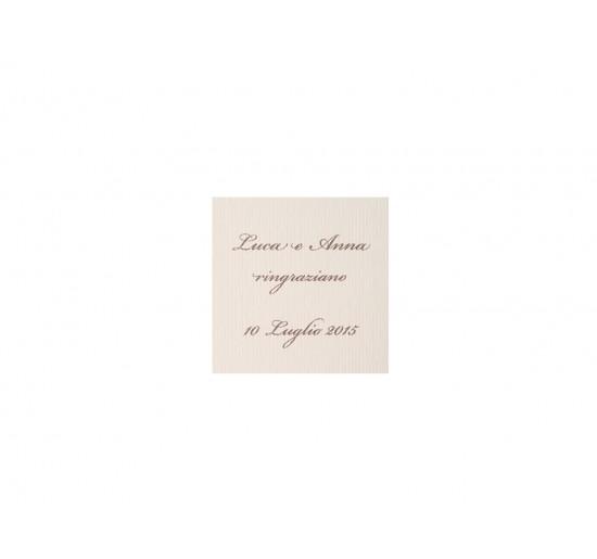 Romantic _ Biglietti Confetti Quadrati