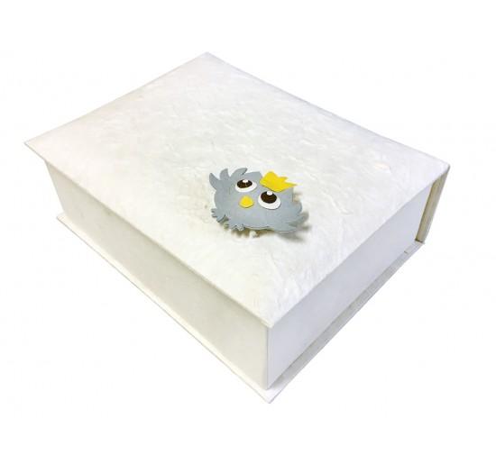 Box 6 scomparti con gufetto