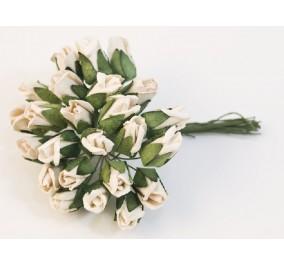 Fiori in carta _ rose bianche
