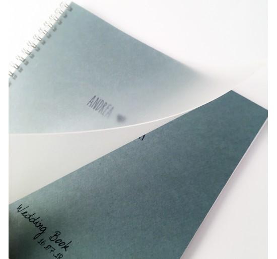 Wedding Book _ azzurro