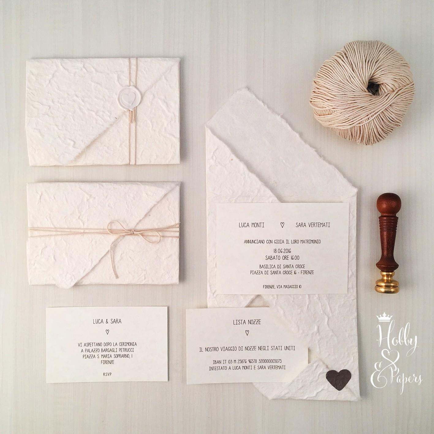 Partecipazioni Matrimonio Origami.Partecipazione Origami Tortora Hobby Papers