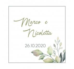 ECOVERDE _ Biglietti Confetti