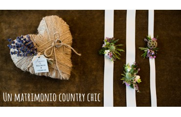Un matrimonio country chic