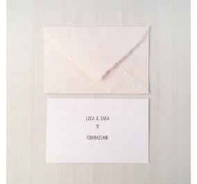 ringraziamenti origami