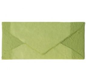 Busta _ carta mano verde